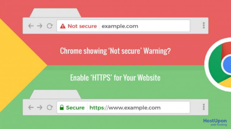 chrome ssl warning