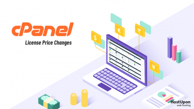 cpanel license changes