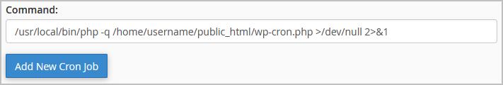 wp cron command