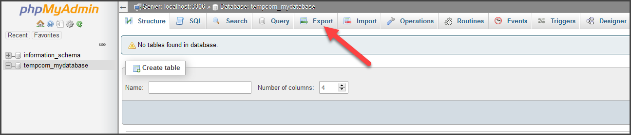 PHPMyAdmin Backup 3