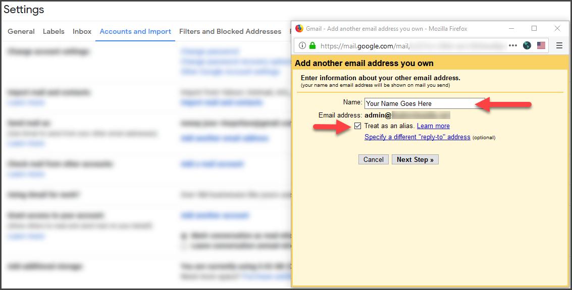 Gmail Step 8