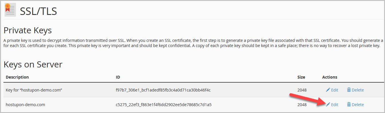 SSL Key 3