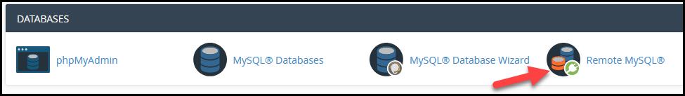 Remote MySQL cpanel